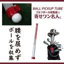 送料無料!ゴルフボール収集器:腰を屈めずボールを収集!寄せワン名人【BALL PICK UP TUBE】