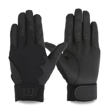 Wilson ウイルソン フィールディンググラブ 守備用手袋(左手/片手用)WTAFG0202 ブラック