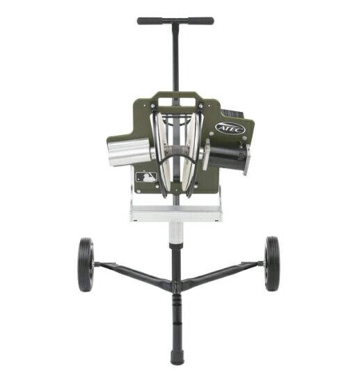 ATECピッチングマシン(移動キャリア付き)旧ROOKIEルーキーピッチングマシン-ソフトボール用-