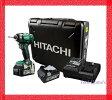 日立工機 18V インパクトドライバー WH18DDL2(2LYPK)【6.0Ah電池付 フルセット】/コードレス