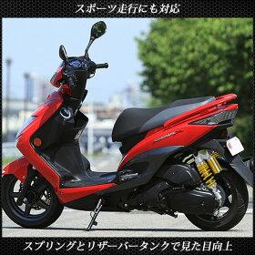 シグナスX125SRローダウンサスペンション-2