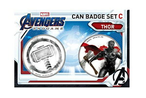 マーベル アベンジャーズ エンドゲーム Avengers: Endgame / IBA-129 缶バッジセットC(2個)