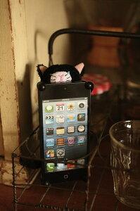 ふわふわ猫のぬいぐるみ iPhone カバー あなたを見守ります!【新商品】CHATTY 猫のぬいぐるみi...