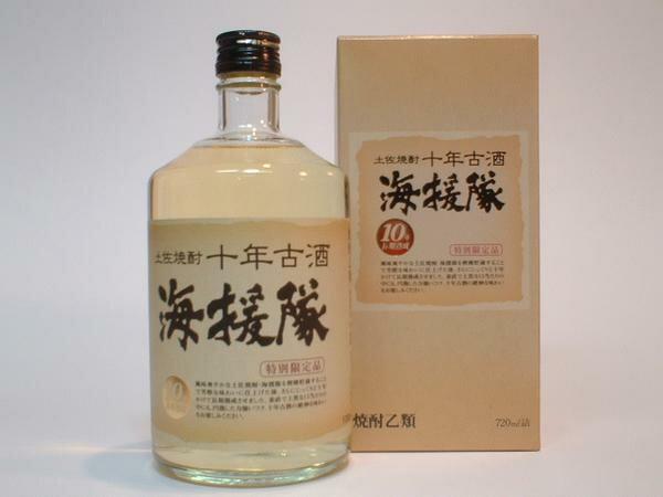 特別限定品「土佐焼酎」十年古酒海援隊 720ml土佐鶴米焼酎