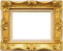 油彩額 油絵用額縁 7805 F3 ゴールド 金 (アートフレーム)-新品