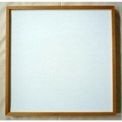 正方形の額縁 D771 500画 木製フレーム 木地色-新品