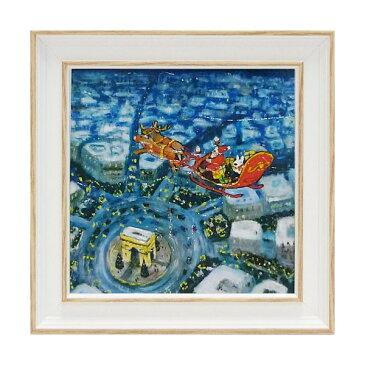 リサとガスパール アートフレーム Sサイズ「メリークリスマス!」 GL-02018-新品