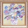 ミニゲル アートフレーム M.J.ベスウィック「ボタニカル ブルー」 MJ-02003-新品