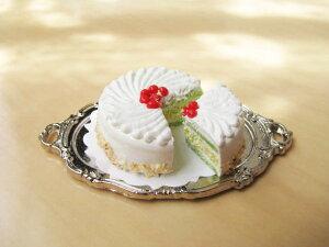 ミニチュアフード【切れてるケーキ】チェリー&クリーム25mm[CK-20]【あす楽対応】
