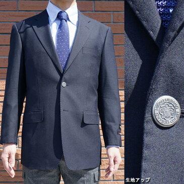 ミエコウエサコ(MIEKO UESAKO) 紺ブレザー 2つボタン オールシーズン 【高級素材】【ウール100%】 メンズ ジャケット ネイビー 52888 A5 A8 AB8 BB3 BB4