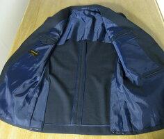 OXFORDCLASSIC英国調の春夏3つボタン紺ブレザーチェンジポケット付き銀ボタン5788A7A8AB8BB4BB5BB6BB7