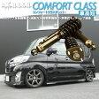 [車高短モデル]LA600S タント/タントカスタム[RUSH車高調 COMFORT CLASS]減衰力24段調整付全長調整式フルタップ車高調