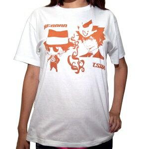 [small size] you S E tutor hit man REBORN! T-shirt tuna & re-Vaughn white