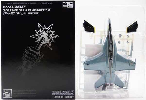 プラモデル・模型, 飛行機・ヘリコプター VFA-27 1144 MAS CVW-5 CAG FA-18C HORNT FA-18E SUPER HORNET VFA-27 Royal Maces 2009May webWF2009