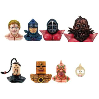 11 kinds of エンスカイキン meat man rial mask collection Vol.3 secret 含全 set finished product figure skating