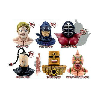 Seven kinds of エンスカイキン meat man rial mask magnet collection Vol.3 secret 含 set animated cartoon finished product figure skating