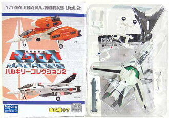 F-玩具 1 / 144 超級太空堡壘超時空要塞瓦爾基集合 Vol.2 秘密 VF 1 J kakizaki (劇場版) 動漫動漫微型半完成的餐玩具盒只圖