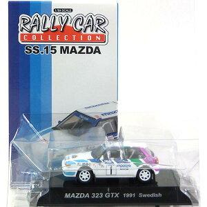 【5】 CM's 1/64 ラリーカーコレクション SS.15 323 4WD GTX 1991 スウェーデン ミニカー ミニチュア レーシングカー WRC 完成品 単品