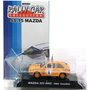 【3】 CM's 1/64 ラリーカーコレクション SS.15 マツダ/MAZDA 323 4WD 1989 スウェーデン ミニカー ミニチュア レーシングカー WRC 完成品 単品
