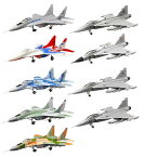 【12SET】エフトイズ1/144ユーロジェットコレクションVol.2限定品含む全12種セット戦闘機ミニチュア半完成品ミリタリー食玩送料無料