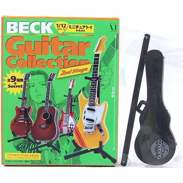 【2S】 メディアファクトリー 1/12 BECK ベックギターコレクション 2ndステージ シークレット レスポールtype ギターケース (黒) アニメ 漫画 映画 フィギュア 楽器 ミニチュア 半完成品 単品画像