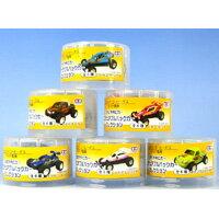 タミヤRCカーミニチュアプルバックカーコレクション ボス缶コーヒー黄色(全6種フルコンプセット)【即納】