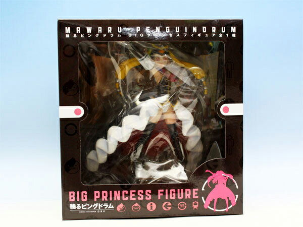 輪るピングドラム BIGプリンセスフィギュア プリンセス・オブ・ザ・クリスタル フリュー(ポスターおまけ付)【即納】【05P03Dec16】画像