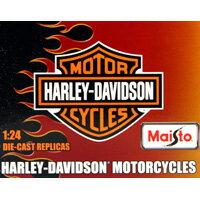 ハーレーダビッドソン モーターサイクルコレクション3 Harley-Davidson 箱玩 Maisto(全6種フルコンプセット)【即納】:トレジャーマーケット
