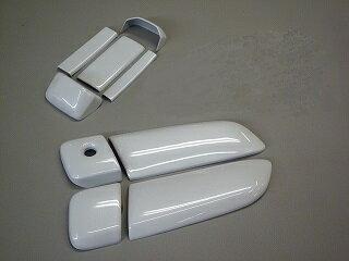 ハイエース200系 ドアノブカバー(鍵穴付)純正色塗装/4DR