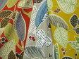 【特価布地 綿生地 】ルシアン生地斉藤謠子さん布地 etoffe imprevue 植物の葉と実の模様 3色 204L1
