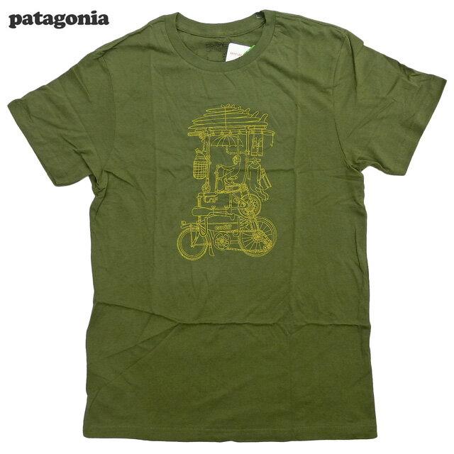 トップス, Tシャツ・カットソー PatagoniaBike To SurfTFatigue Green