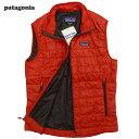 新品patagonia/ Nano Puff Vest/French Red/パタゴニア/ナノパフベスト(84241)【あす楽対応_関東_甲信越_北陸_東海_近畿_中国_四国】
