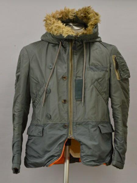 メンズファッション, コート・ジャケット  JUNYA WATANABE COMME des GARCONS MAN ALPHA N-2B SS F-L6381190202