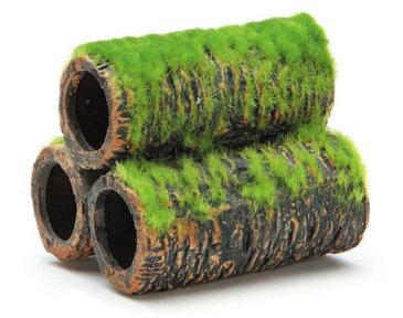 GEX 小さな和の庭 土管S 水槽用アクセサリー 【熱帯魚・アクアリウム/流木・砂利・レイアウト用品/シェルター】