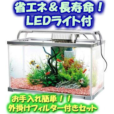 テトラ 52cmガラス水槽・LEDライト付きセット AG−52LE