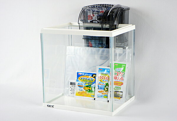 5倍  GEXメダカ元気ラクラクセット小型観賞魚飼育セット 043012p05