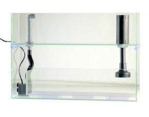 幅60cm・2段式小型オーバーフロー水槽システムです。【送料無料】 JUN アクアキュート600 オ...
