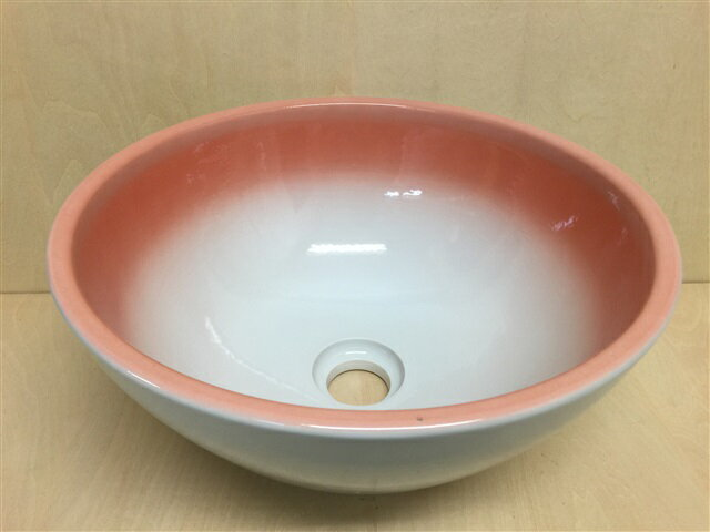【有田焼】【訳あり】32cm手洗鉢.あけぼの15【手洗い鉢・植木鉢・洗面鉢】