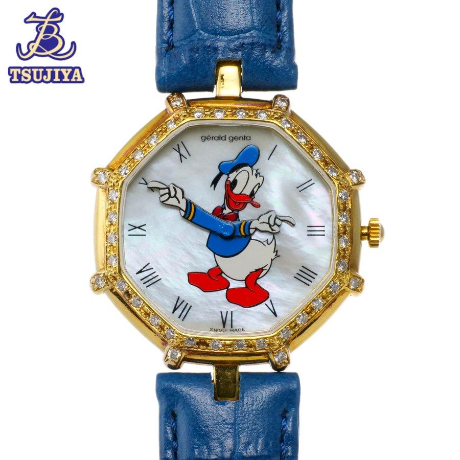 腕時計, レディース腕時計 GERALD GENTA K18YG ABW0502