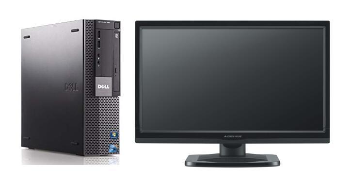 パソコン, デスクトップPC 1GB HDMIWindows7 Pro 64BITDELL Optiplex 980 SFFCore i5 3.20GHz8GBSSD 120GBDVDOfficeLAN22