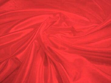 サテン無地 ポリエステル100% 赤【メール便4m可】 生地 布 ピカピカ 応援 運動会 舞台衣装 発表会 コスチューム コスプレ 装飾 ソーイング ハンドメイド 手作り 手芸 通販 安い  激安 クリスマス ハロウィン インテリア 幼稚園 お遊戯会 劇 保育園 学校