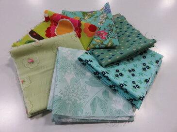 MODA(モダ)カットクロス6枚セット C 【メール便可】|生地・布地|パッチワーク|巾着|ハギレ|はぎれ|小物つくり|USA|アメリカン|ソーイング|手芸|手作り|通販|安い|福袋|お楽しみ袋|