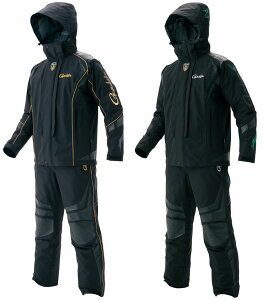 がまかつ 最高級ゴアテックス(R) オールウェザースーツ GM-3467(防水 上下 フィッシング ウェア レインウェア ウエア 合羽 磯釣り 大きいサイズ パンツ 防寒着 レインスーツ 釣り用 レインコー
