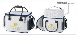 サンライン・フィッシュキープバッグ SFB-0805 (ハードインナー装備)  ( キーパーバッカン 活かしバッカン トーナメント 競技トーナメンター 釣り 釣り用品 釣り道具 道具 釣り具 釣具 磯釣