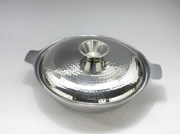 UK 18-0 ちり鍋(ツチ目入り) 30cm