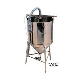 【別注製作品】 もち米仕様(くずし加工一式付) MJP式超音波ジェット洗米器 KO-ME(給水ホースφ25) 300型(2斗用)