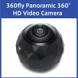 360fly Panoramic 360° HD Video Camera 360°パノラマ HD ビデオカメラ
