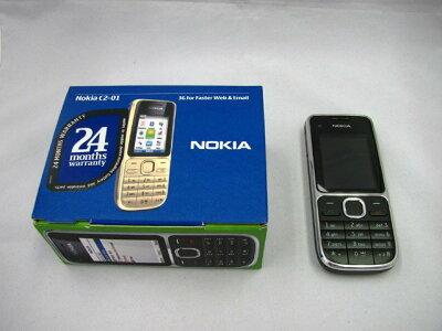 WCDMA対応のストレート型のSIMフリー携帯です。【海外版SIMフリー】Nokia ノキア C2-01 3G対応 ...