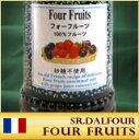 サンダルフォージャム 170g フォーフルーツ  砂糖を一切使ってないので糖分の摂取量を控えている方に最適♪