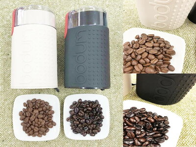 ボダムブレードコーヒーグラインダー(黒/ブラック)日本正規販売品電動コーヒーミル上町珈琲コーヒー豆付bodumBISTRO11160-01JP0699965125875